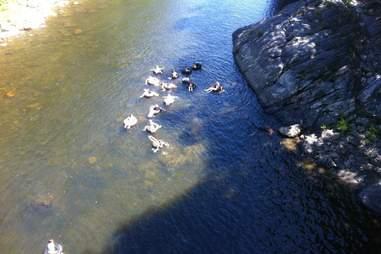 Deerfield River Portage tubing