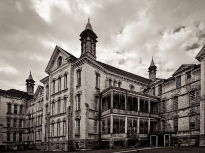 Creepy abandoned hospital