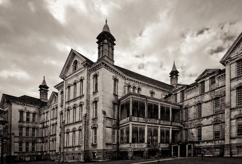 Creepy Abandoned Places A Super Creepy Abandoned Hospital Or
