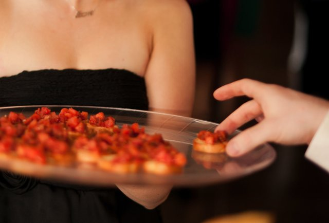 Ranking the best wedding passed appetizers