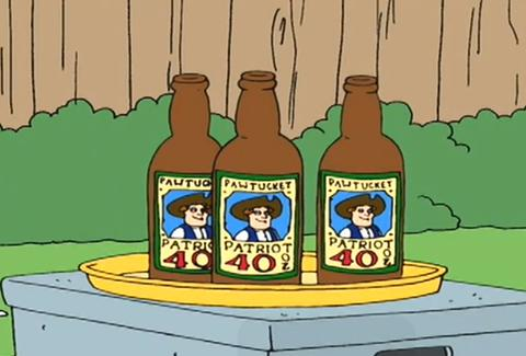 Pawtucket Patriot Ale Family Guy
