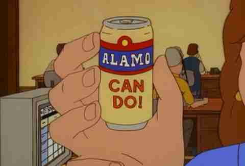 Alamo Beer King of the Hill