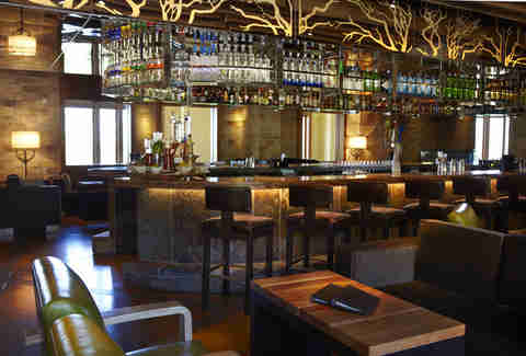 Manzanita bar area