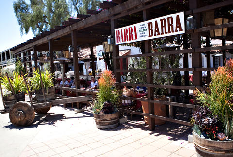 Exterior of Barra Barra Saloon in San Diego