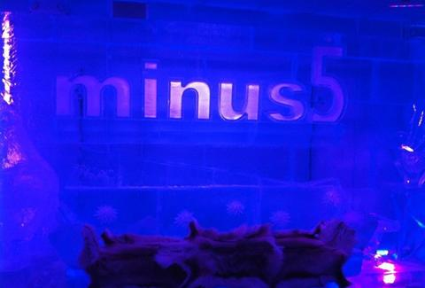 Sign at Minus5 Ice Bar