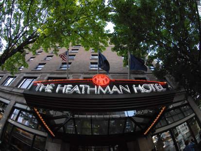 The Heathman Hotel- Portland