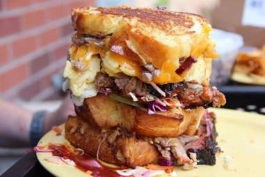 gluttonous sandwich at Whole Foods