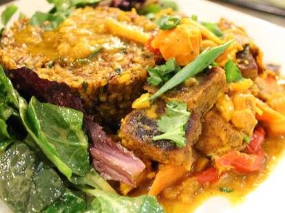 Tandoori Tofu at Choices Vegan Cafe
