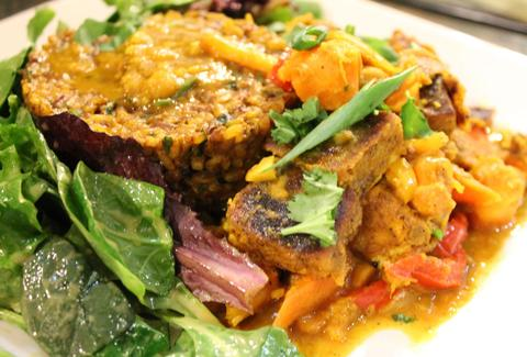 Tandoori Tofu at Choices Vegan Cafe