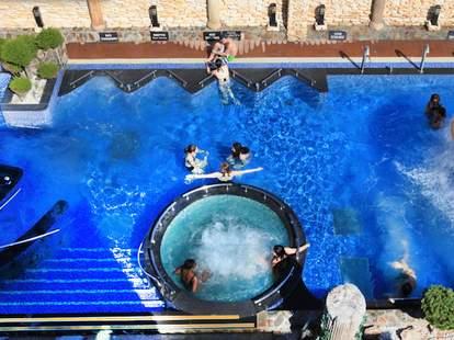 Spa Castle pool