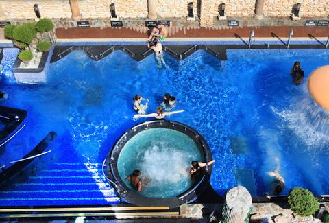 Spa Castle pool
