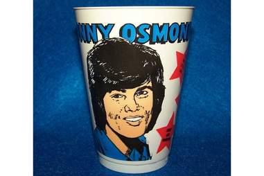 Donny Osmond Slurpee Cup
