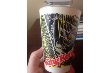 King Kong Slurpee Cup