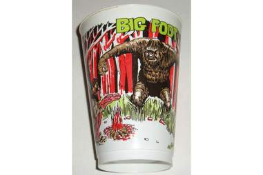 Big Foot Slurpee Cup