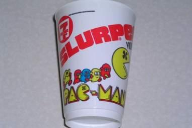 Pac-Man Slurpee Cup