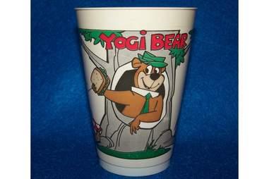Yogi Bear Slurpee Cup