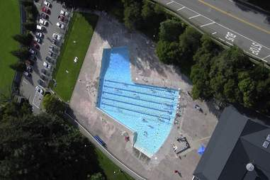 The Strawberry Canyon Pool