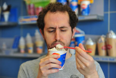 snickers blizzard at Dairy queen