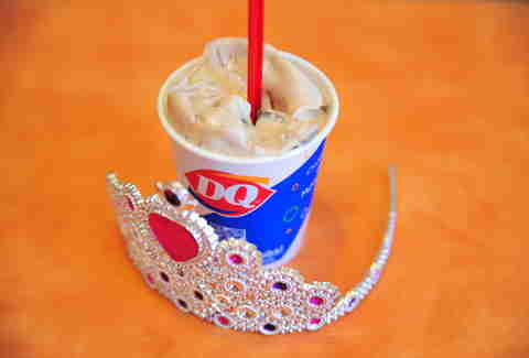 Reese's Blizzard at Dairy Queen