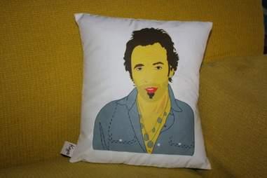 Bruce Springsteen pillow