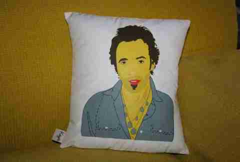 Bruce Springsteen pillow