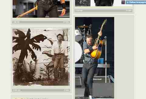 Bruce Springsteen's Crotch