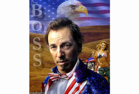 Bruce Springsteen Photoshop