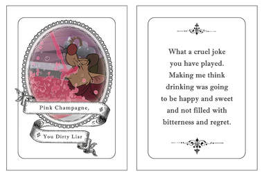 Great Mouse Detective champagne