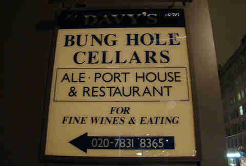 Bung Hole Cellars, London