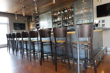 upstairs bar at Drakes Haus