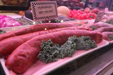 Sausages at The Butcher Shop