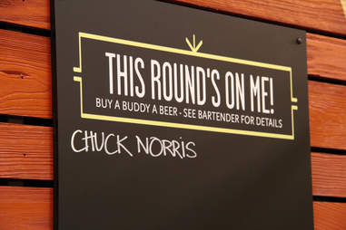 Chuck Norris at Whole Foods