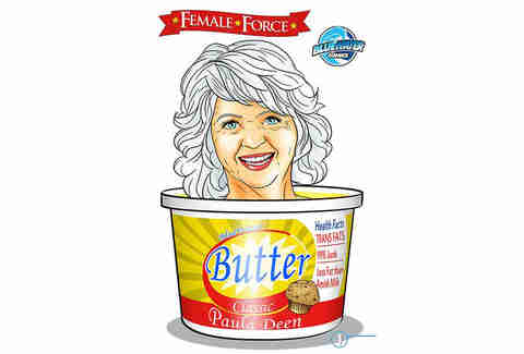 Paula Deen comic book