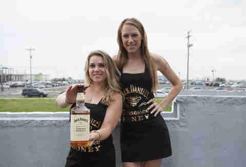 Jack Daniel's Tennessee Honey girls