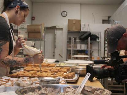 Swiss Haus Bakery philadelphia cronuts