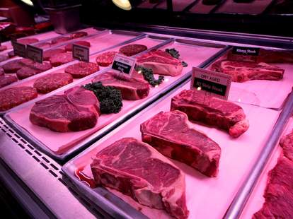 Steaks and burgers at The Butcher Shop