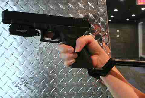 Automatic Glock 9mm at Lock and Load Miami