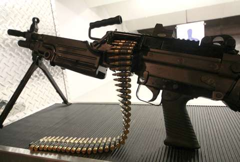 An automatic rifle