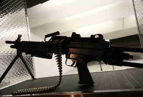 M249 SAW at Lock and Load Miami