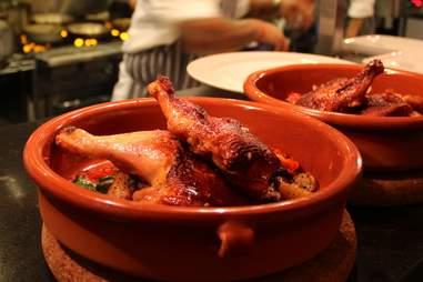 Amish chicken at Bistro Joe's