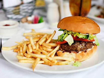 The Vincent Burger at Vincent: A Restaurant