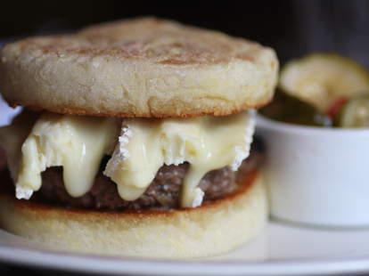 The 112 Cheeseburger at 112 Eatery