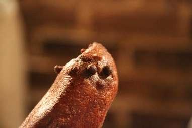 The Veggie Corndog at Crif Dogs