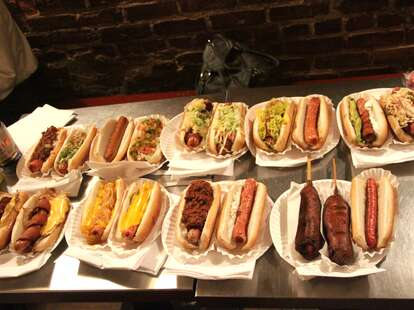 Hot Dogs at Crif Dogs
