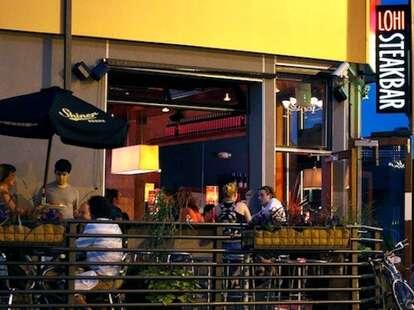 LoHi SteakBar outdoor seating