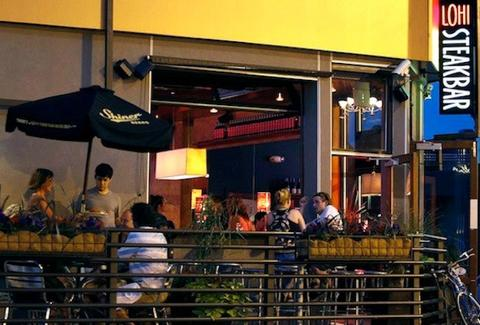 LoHi SteakBar outdoor seating