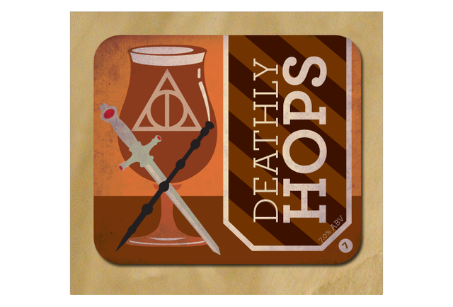 A nerdy genius made puntastic beer labels for every Harry Potter book
