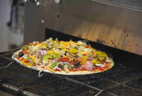 Soulfire Pizza, Conveyer belt oven.