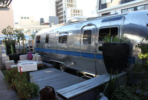 The Grand Daddy Rooftop Airstream Park
