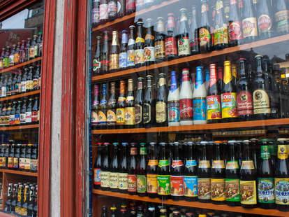 Belgian bottled beers in case